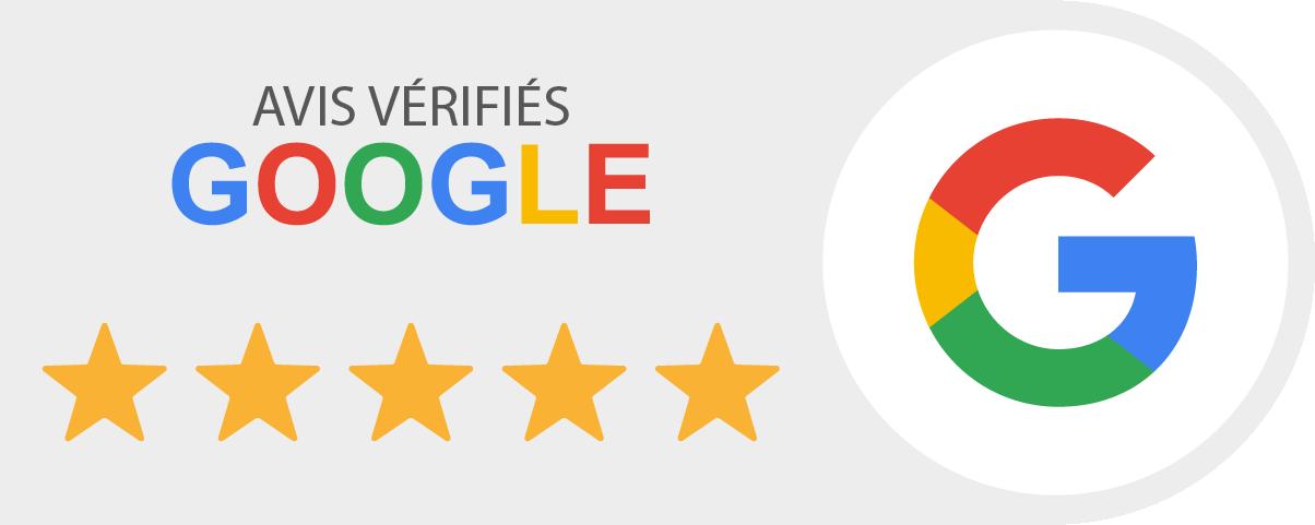 Nos avis client sur Google